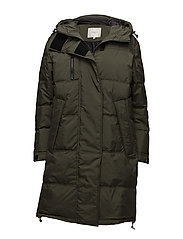 SFSISSY LONG DOWN COAT - FOREST NIGHT