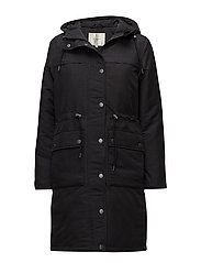 SFMIA PARKA COAT - BLACK