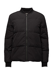 SFDAVY LS DOWN JACKET - BLACK