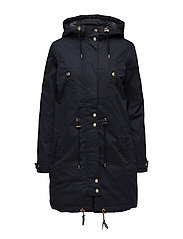 SFADONIA PARKA COAT - DARK NAVY