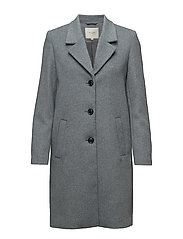 SFSASJA WOOL COAT CAMP H - STORMY WEATHER