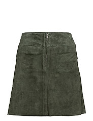 Selected Femme - Sflore Mw Suede Skirt