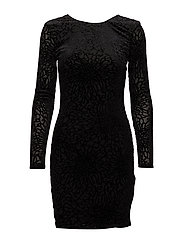 SFMILA LS DRESS - BLACK