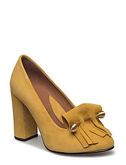 Selected Femme - Sfmel Suede Pump W. Fringes