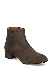 SFBECKY SUEDE BOOT - DARK GREEN