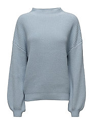 SFESTA LS T-NECK KNIT - SKYWAY