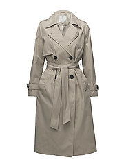 SFWEEK LS TRENCHCOAT H - CROCKERY