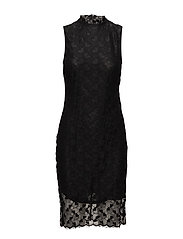 SFLACEY SL DRESS - BLACK