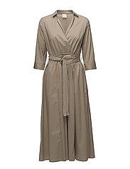 SFSABINA 3/4 DRESS - SILVER MINK