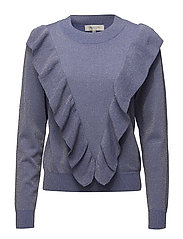Selected Femme - Sfagnes Ls Knit O-Neck Rt