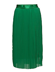 SFMUKY MW PLISSE SKIRT EX - JOLLY GREEN