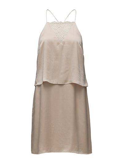 Selected Femme SFRITA SILK STRAP DRESS EX
