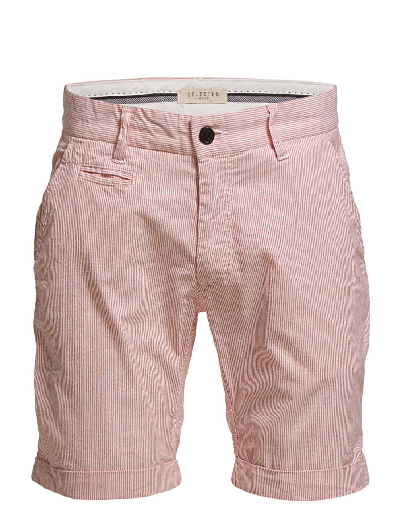 Three Paris Carnelian Stripe Shorts C