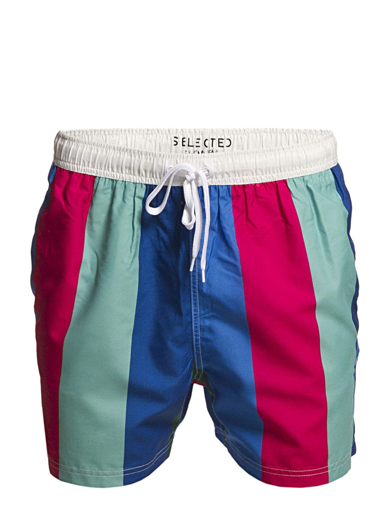 Classic Colour/Stripe Swimshorts Pkt C