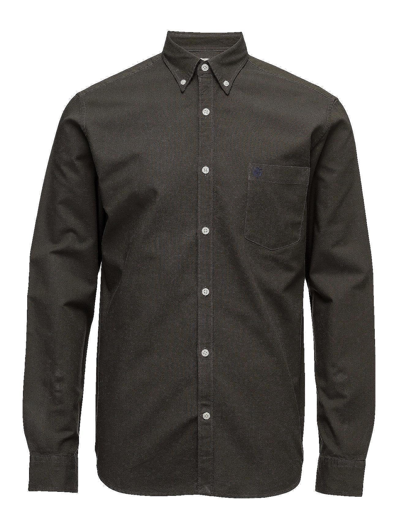 Collect Shirt Ls R  Noos H Selected Homme Business til Herrer i Forest Night