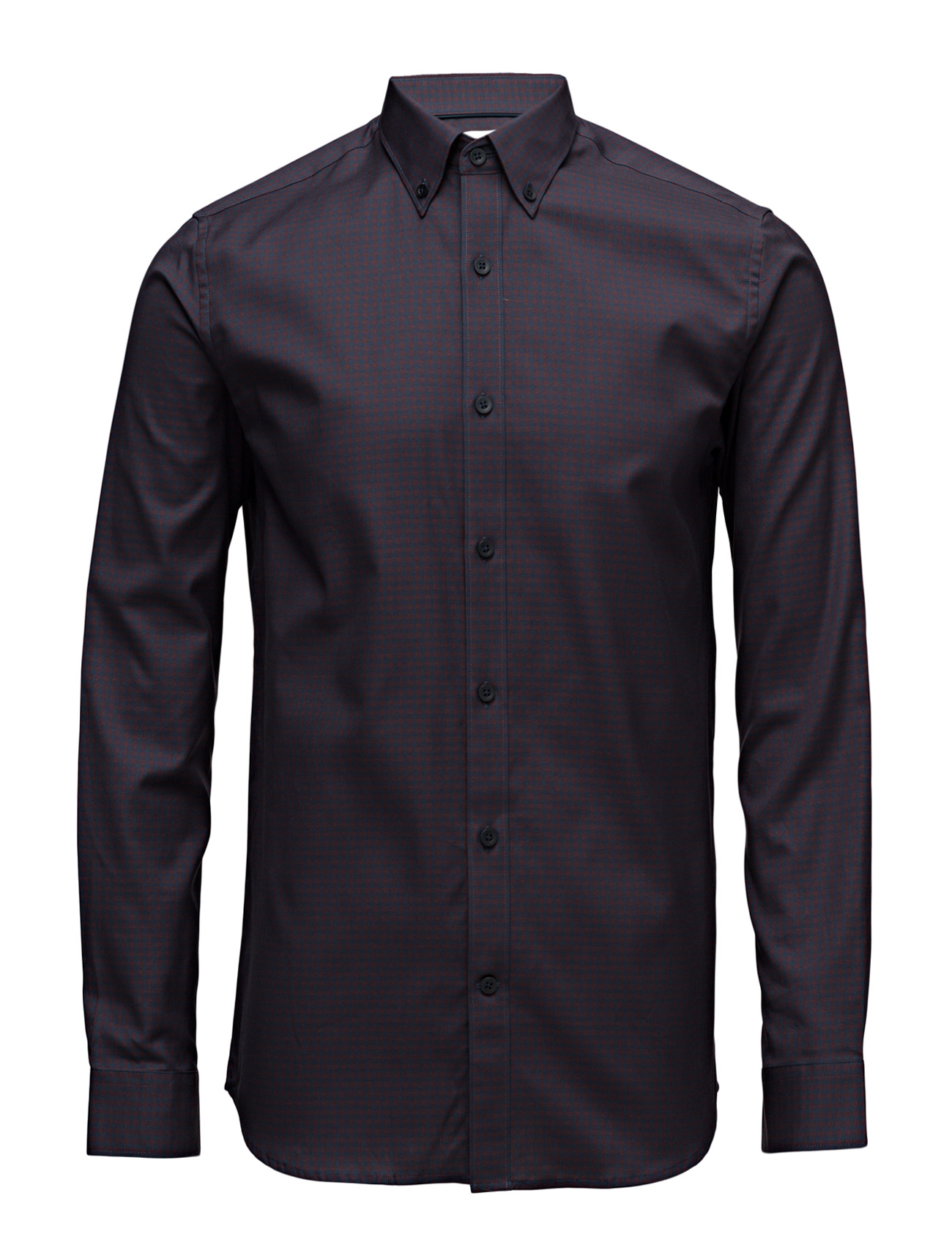 Shdone Oak Shirt Ls Noos Selected Homme Business til Mænd i Lyseblå