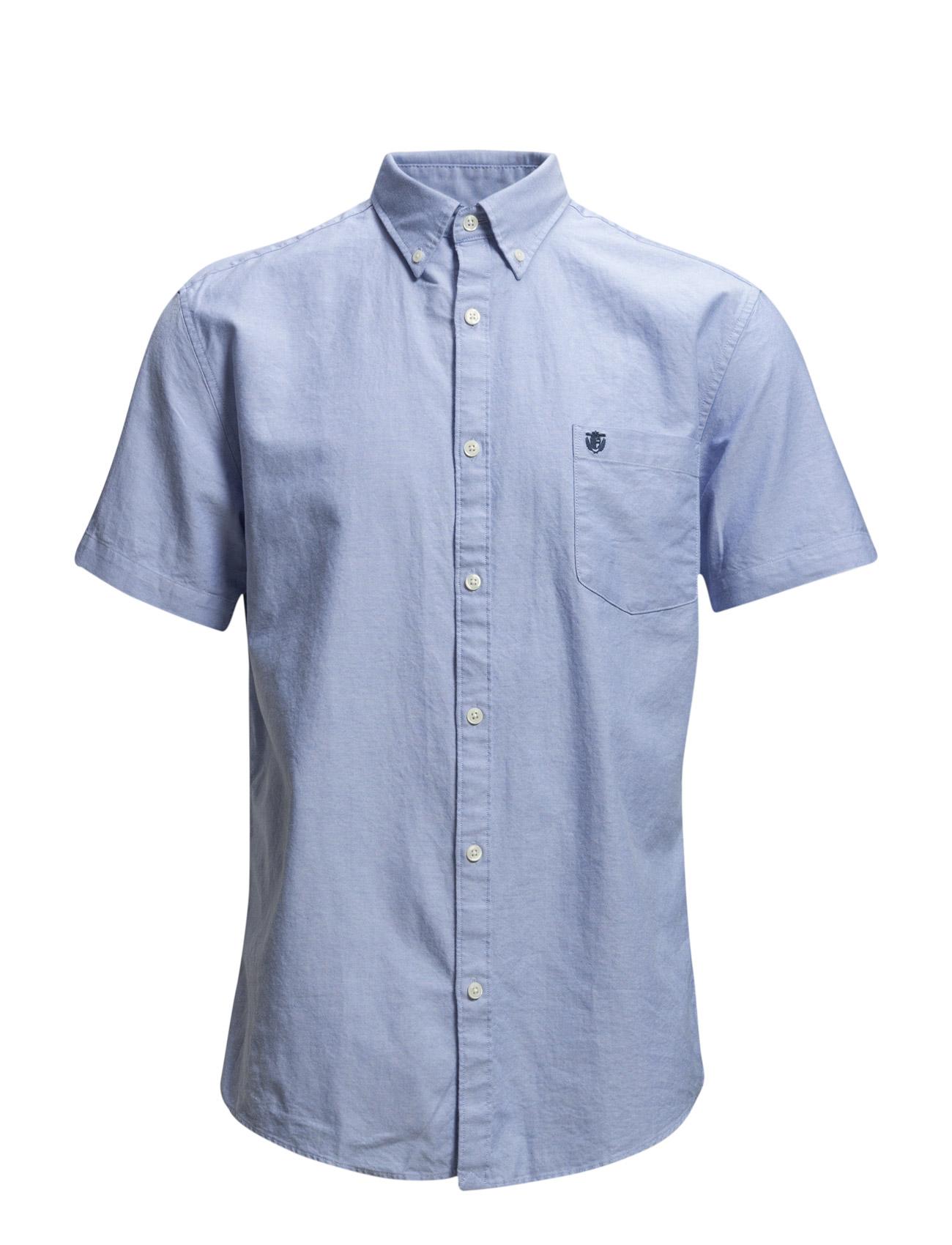 Shhcollect Shirt Ss R Noos Selected Homme Kortærmede til Mænd i Lyseblå
