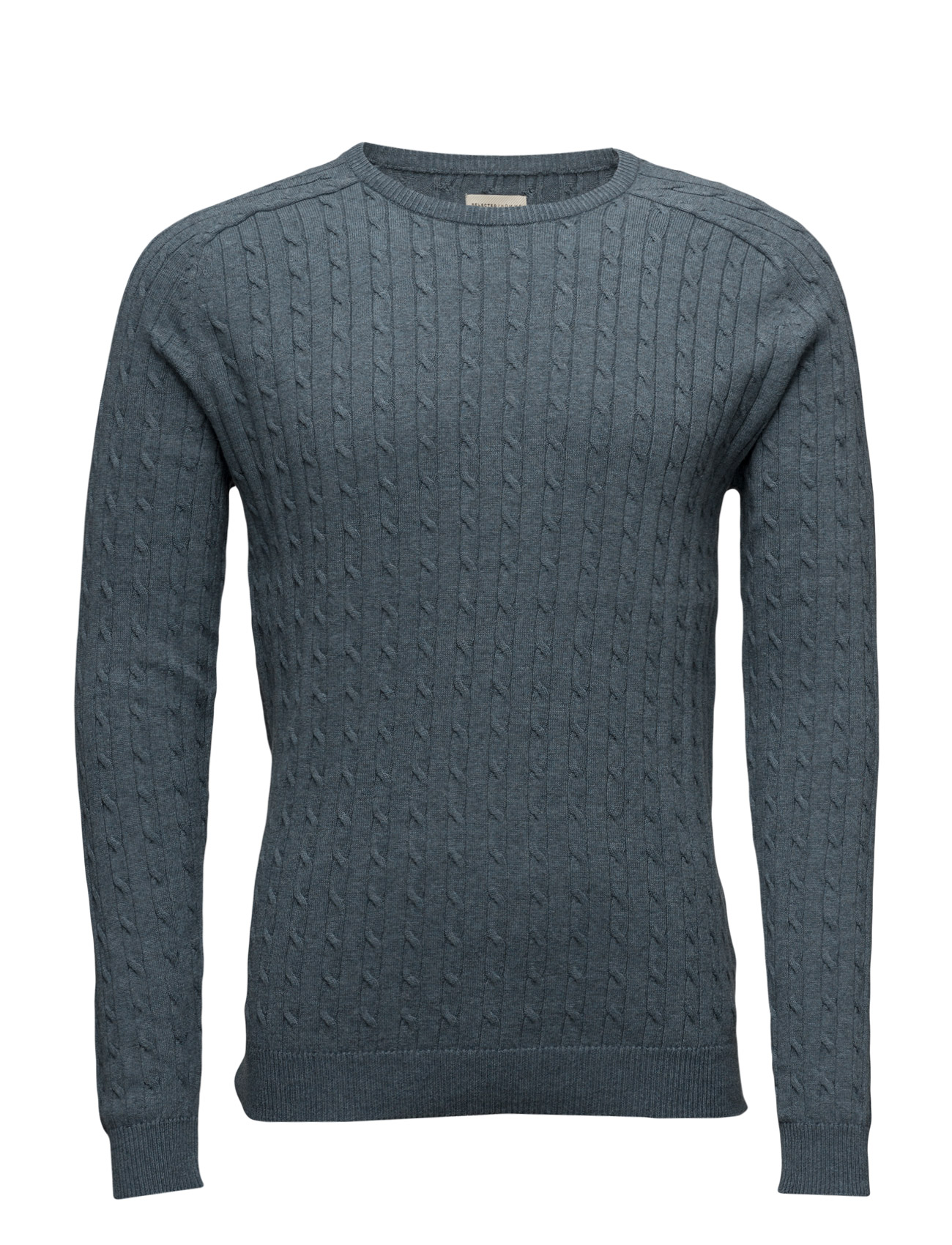 Shhclay Cable Crew Neck Selected Homme Rundhalsede til Mænd i