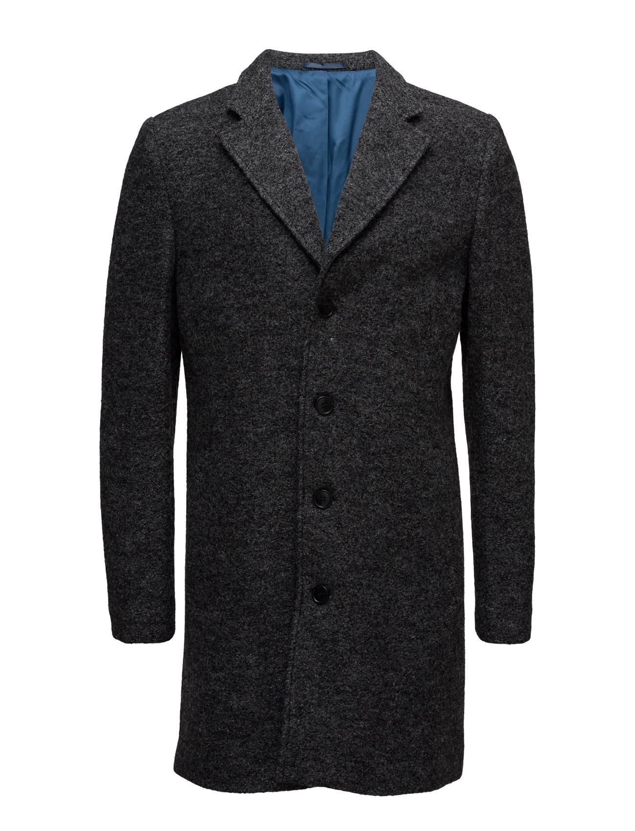Ab Boucle Coat Selected Homme Frakker til Mænd i Sort
