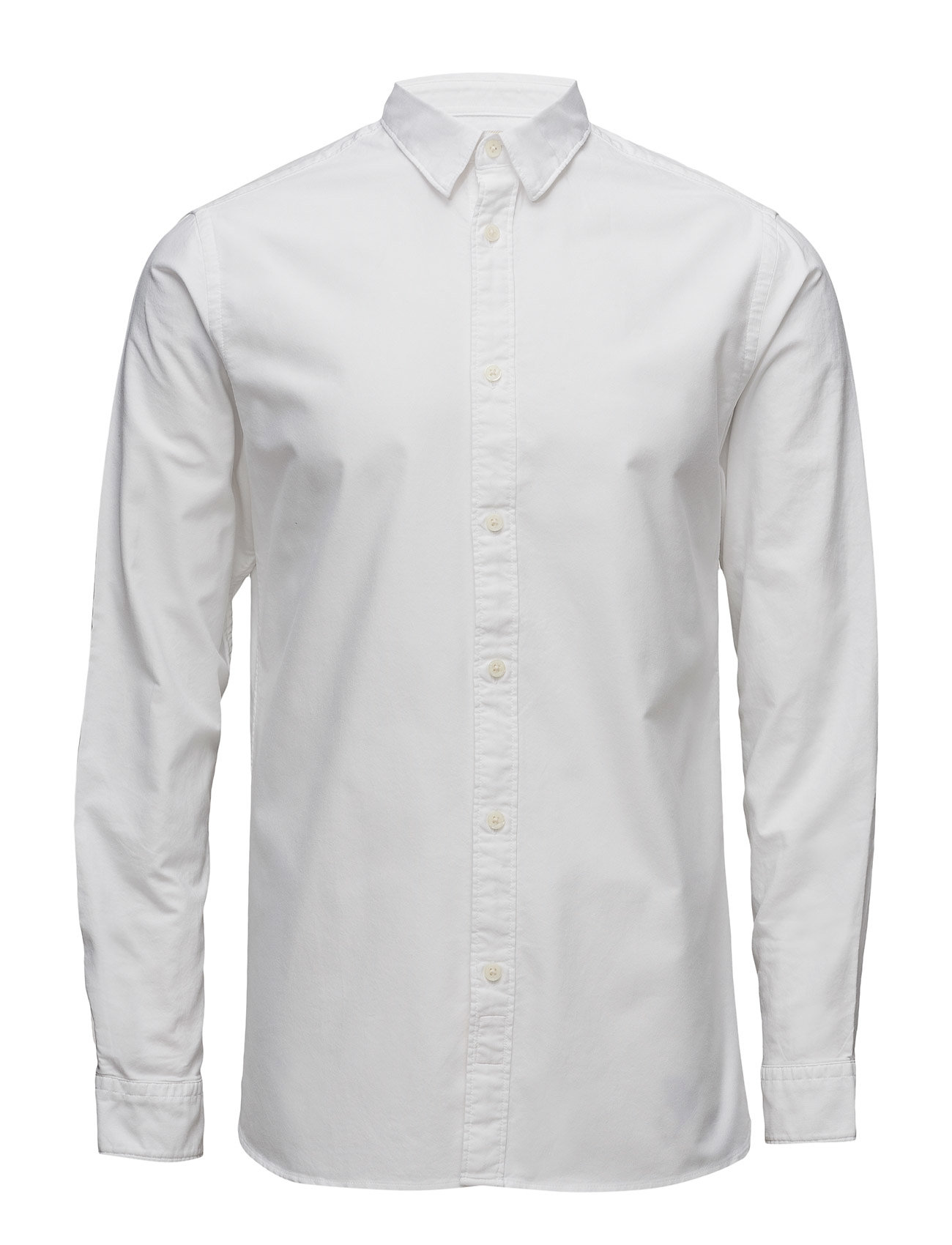 Shhonevince Shirt Ls Sts Selected Homme Business til Herrer i Bright White