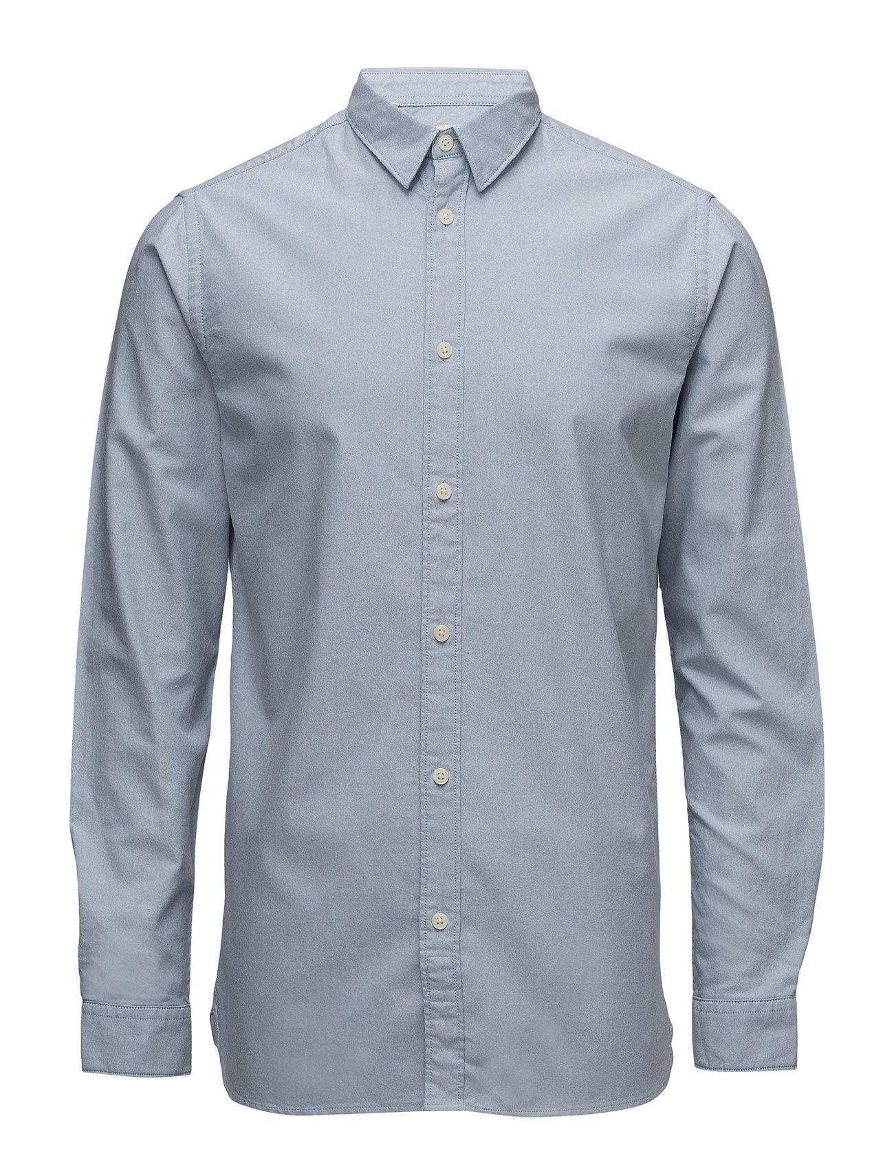 Shhonevince Shirt Ls Sts Selected Homme Business til Herrer i Lyseblå