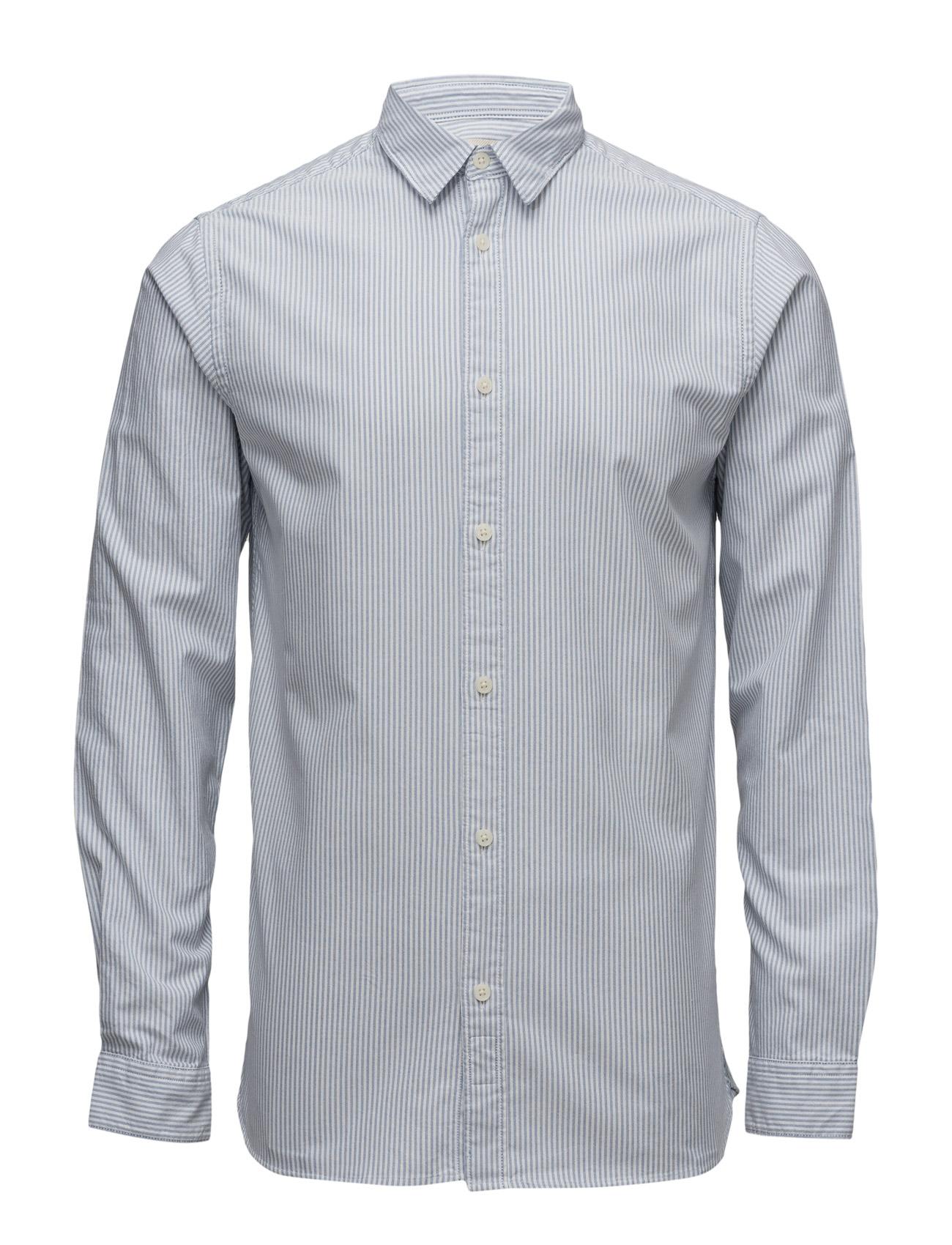 Shhonevince Shirt Ls Sts Selected Homme Business til Mænd i Bright White