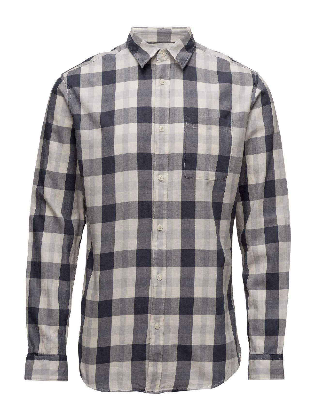 Shhonerune Shirt Ls Selected Homme Casual sko til Herrer i