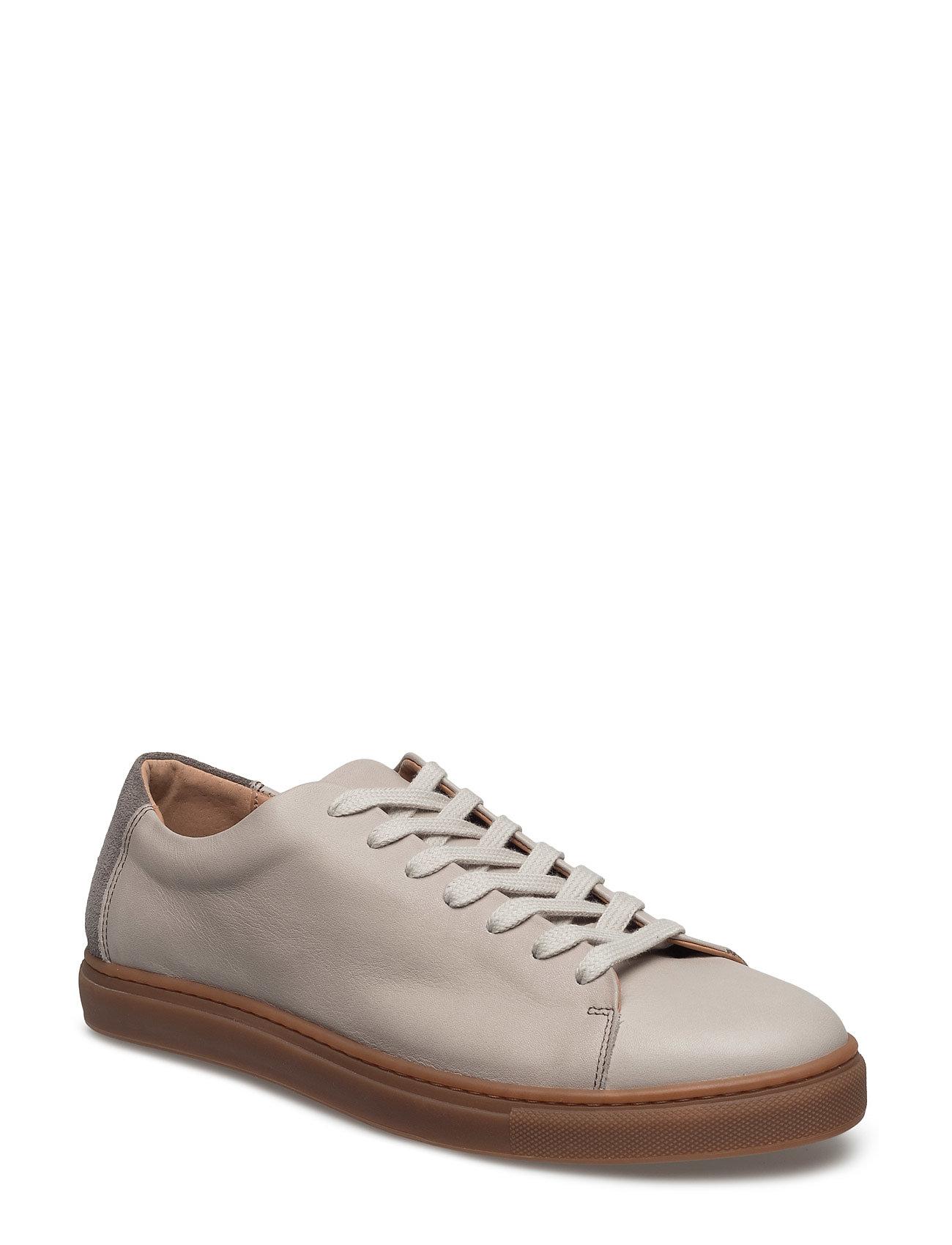 Shndavid New Leather Sneaker Selected Homme Sneakers til Herrer i SAND