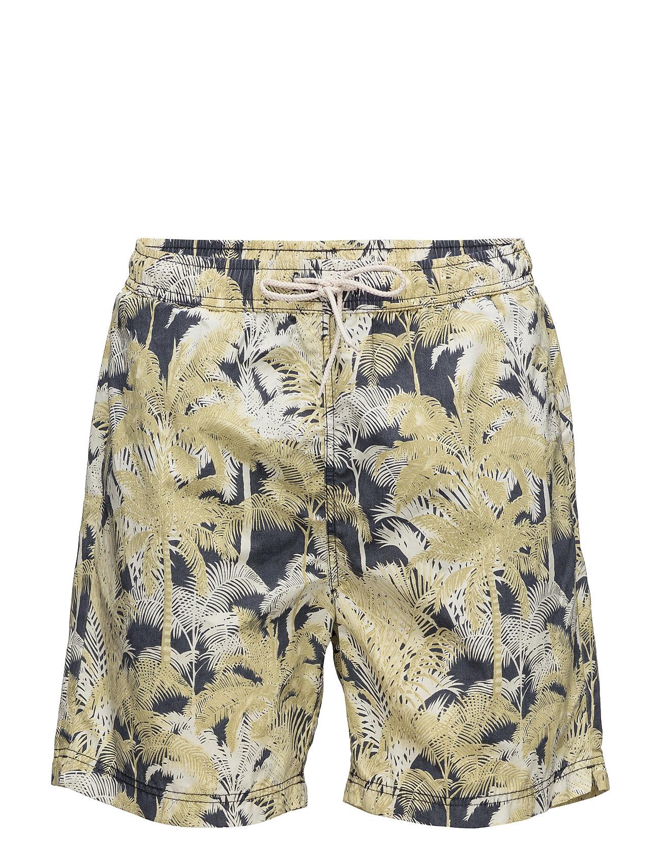 Shhmax Swimshorts Selected Homme Badetøj til Mænd i Mørk Sapphire