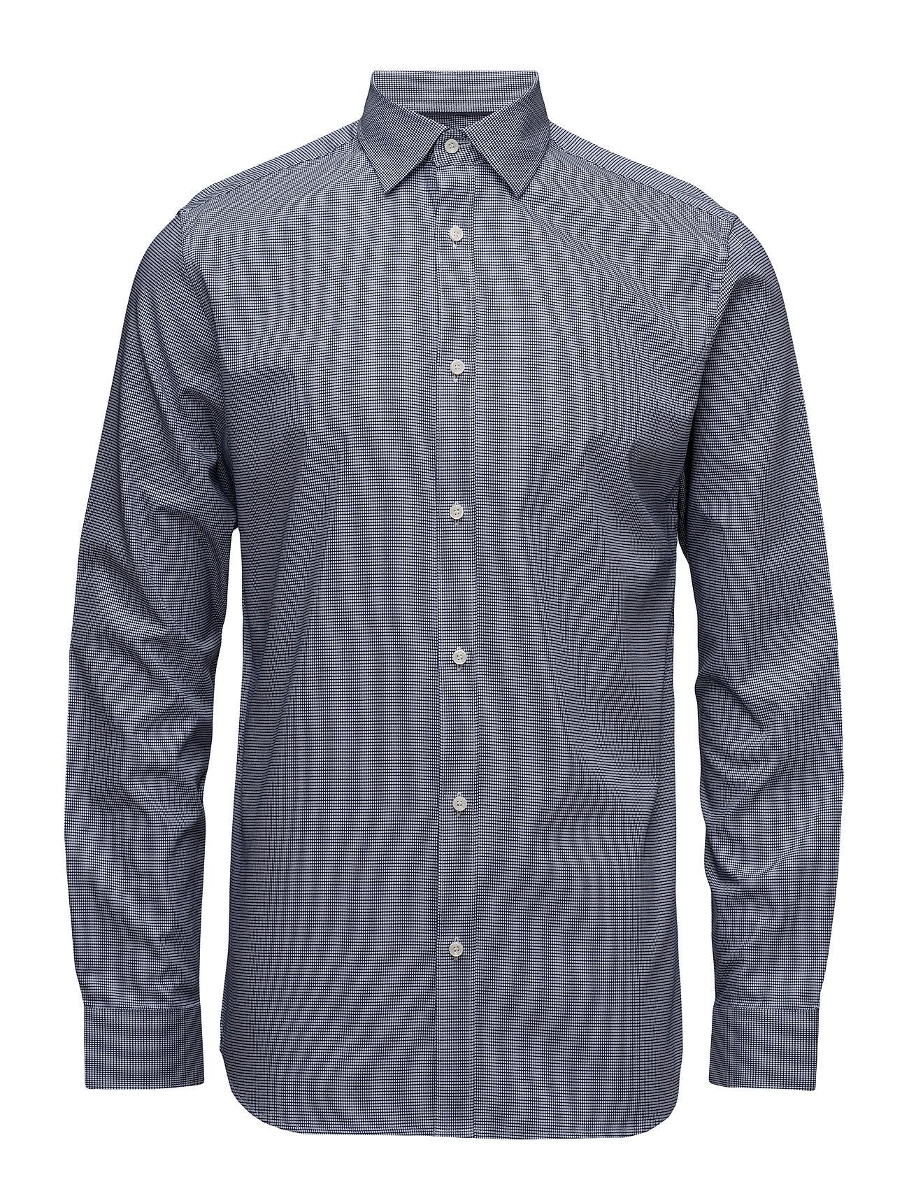 Shdtwotim-Luca Shirt Ls Noos Selected Homme Casual sko til Herrer i hvid