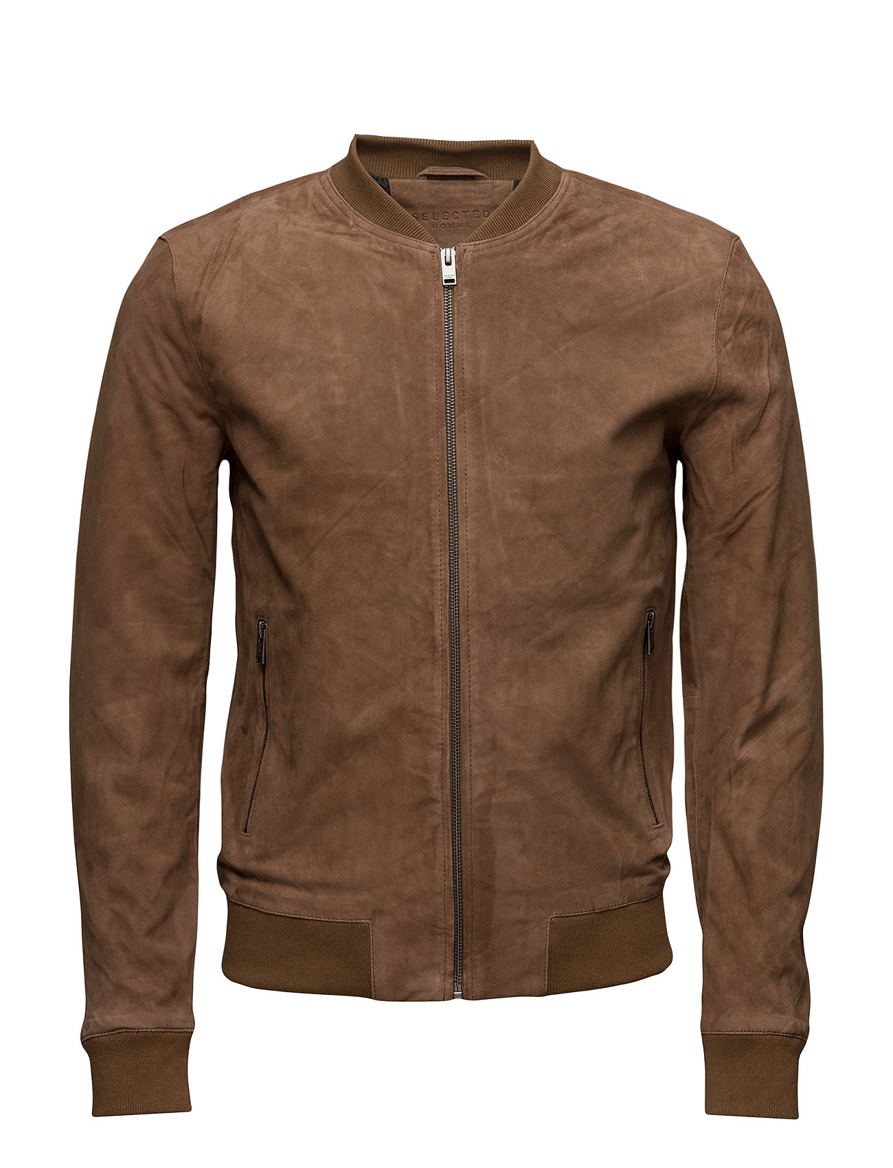Shnmark Suede Bomber Jacket Noos Selected Homme Jackets