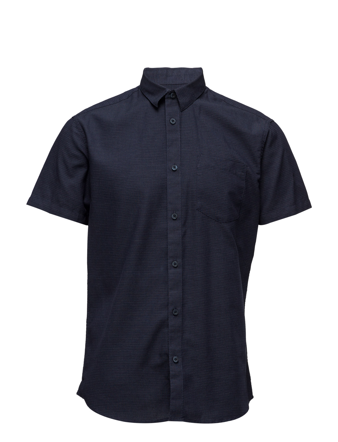 Shdoneclive Shirt Ss Selected Homme Kort-Hylsa