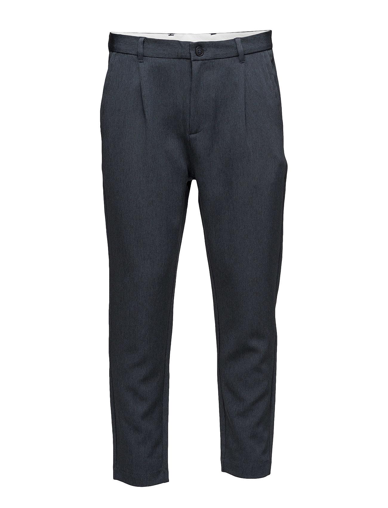 Shdrich Blue Tapered Crop St Trouser Selected Homme Bukser til Mænd i