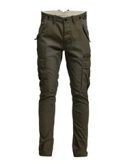 Naples green slim cargo pants I - Olive Green
