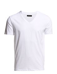 Selected Homme Drill ss single deep v-neck NOOS T