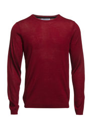 Myron deep crew neck T - Winetasting