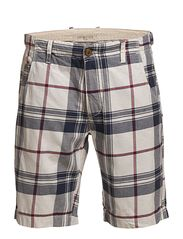 Selected Homme Leway2 Roma check shorts C