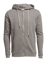 Selected Homme Hank zip hood sweat NOOS J
