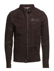 Selected Homme Luc leather jacket J