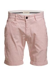 Selected Homme Three Paris carnelian stripe shorts C