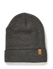 Leth plain hood H - Medium Grey Melange