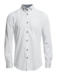 One Mix Mile shirt ls NOOS F - White