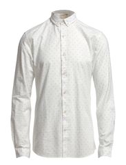 Byron shirt ls s H - Marshmallow