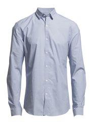 One Chris Leyton shirt ls ID - Chambray Blue