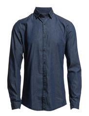 One Chris Georgie shirt ls ID - Twilight Blue