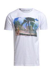 Aloha ss o-neck ID - White