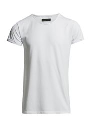 West ss o-neck ID - White