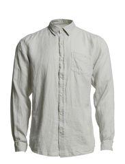 Oliver shirt ls r I - Marshmallow