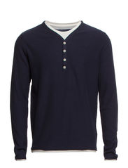 Thor double v-neck HX - Navy Blazer
