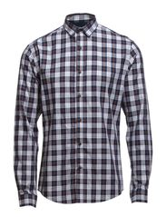 One Dion check shirt ls ID - Bright White